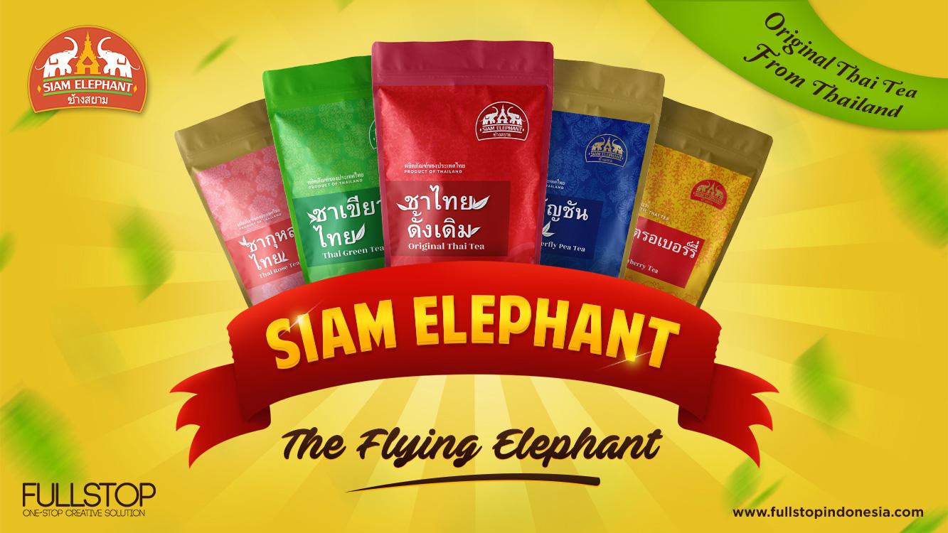 Siam Elephant - Melejit dalam Waktu Singkat, We Call The Brand The FLYING ELEPHANT