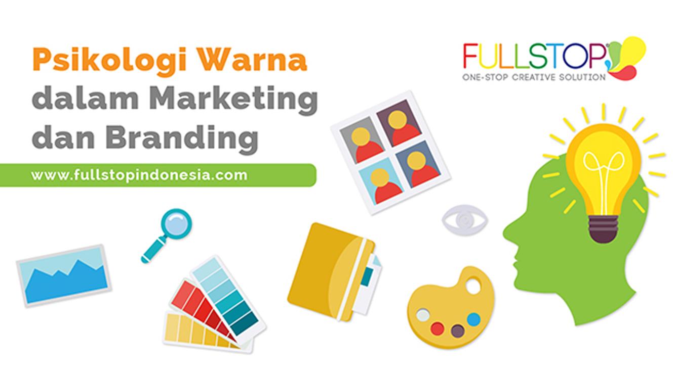 Psikologi Warna dalam Marketing dan Branding