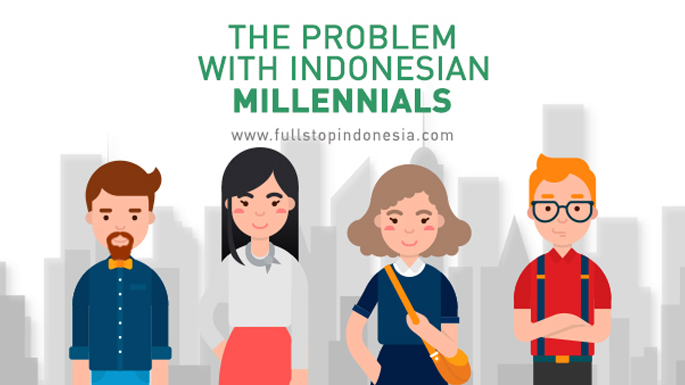 The Problem with Indonesian Millennials