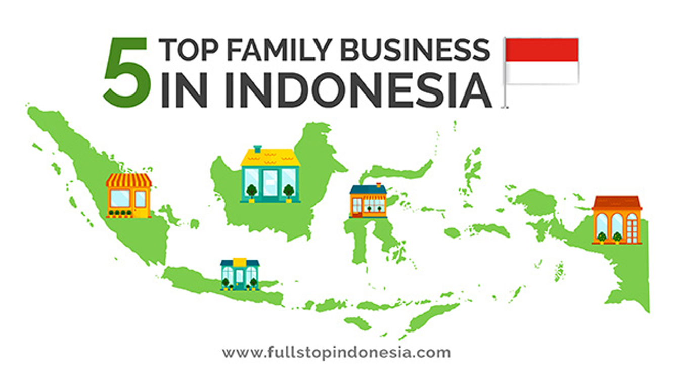 5 Top Family Business' Owner in Indonesia