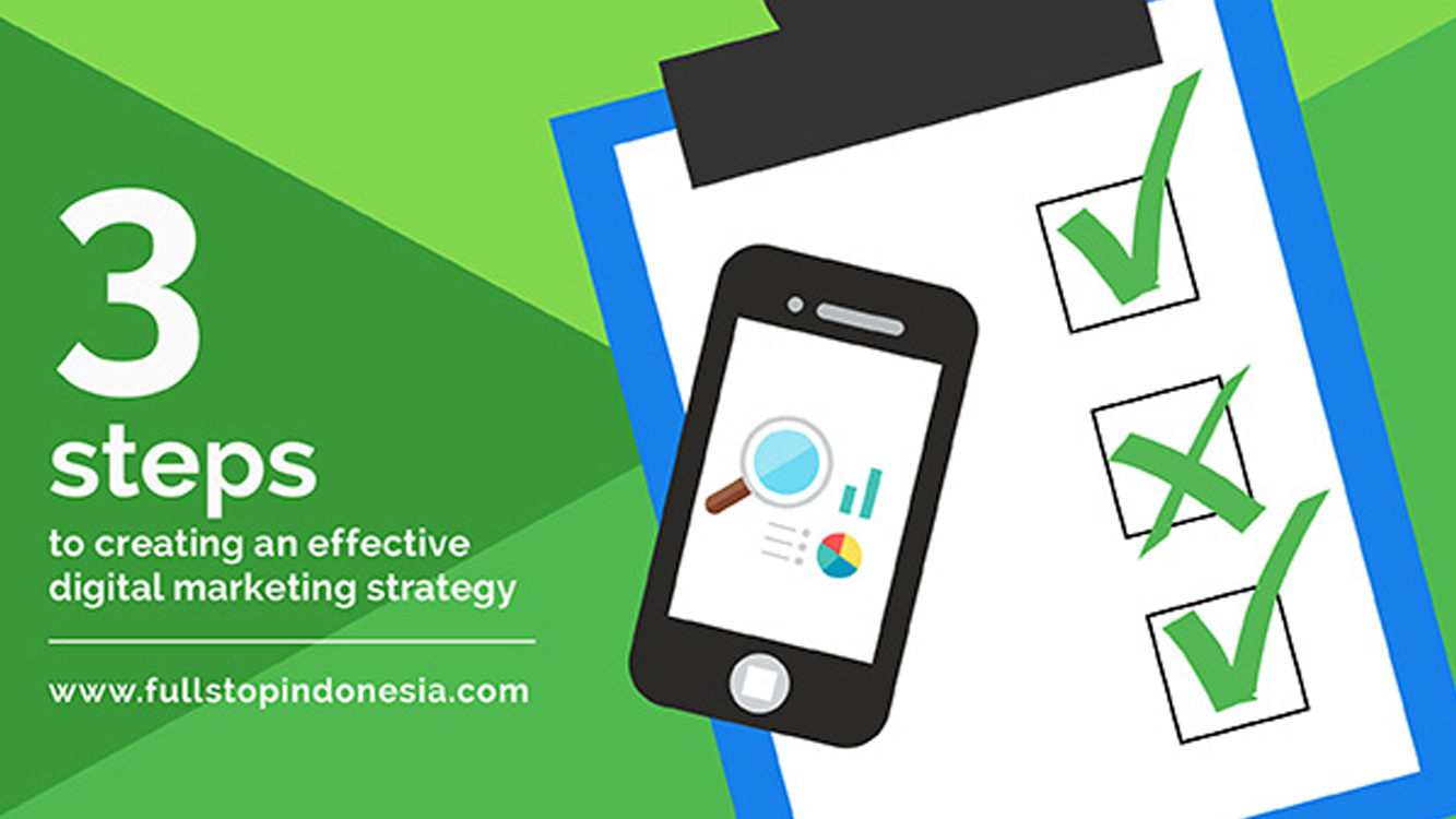 3 Steps to Creating an Effective Digital Marketing Strategy