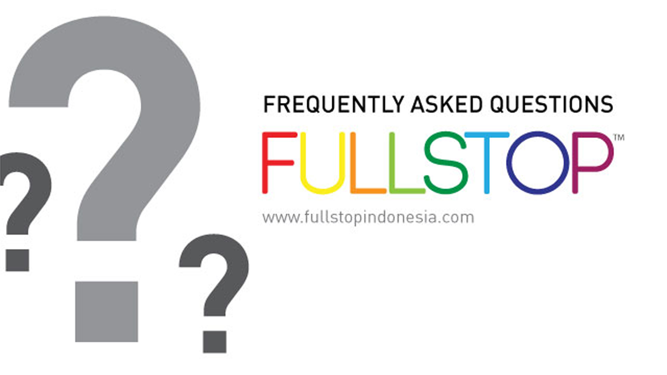 FULLSTOP Frequently Asked Questions