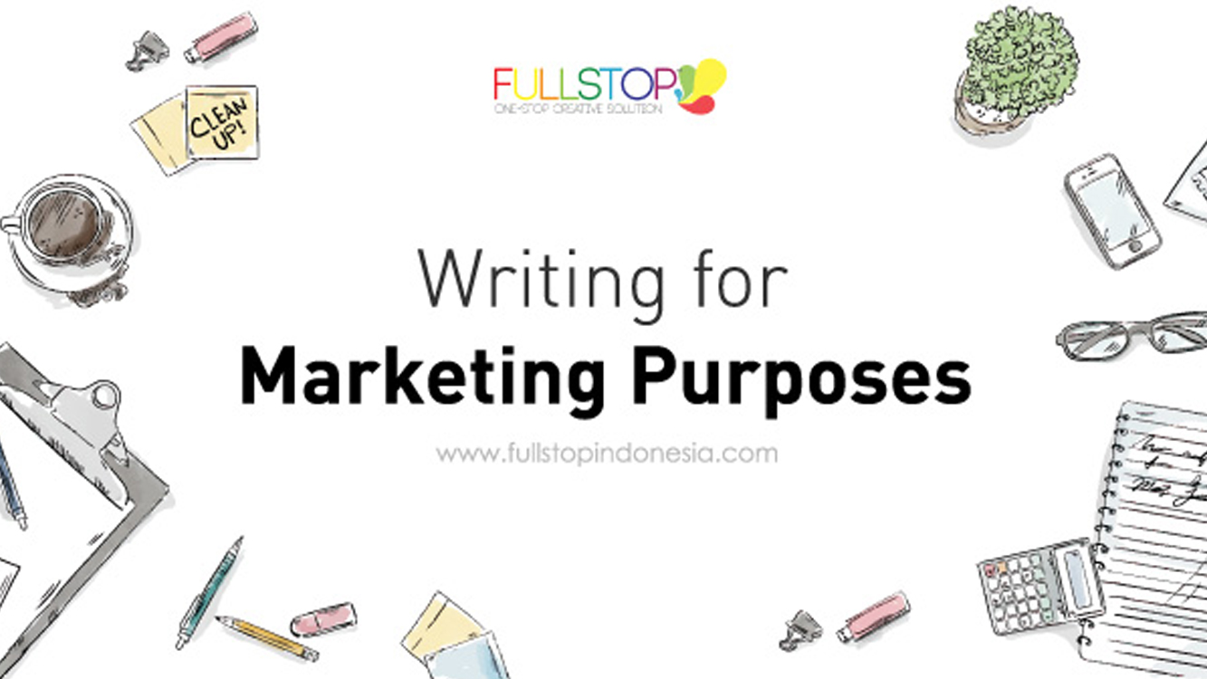 Writing for Marketing Purposes